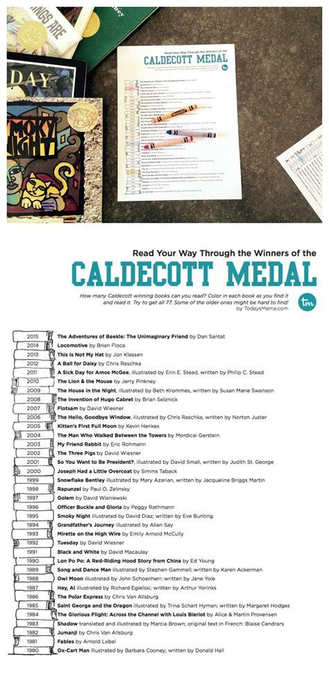 Caldecott Award Winners Printable List