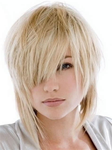 flippy layered medium length hair edgy layered haircuts