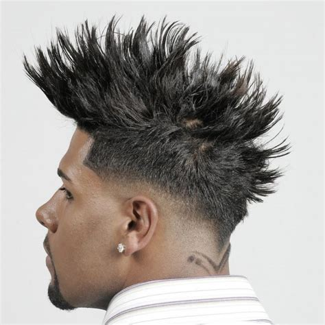 mens afro faded sides long on top hairstyles afro american men s taper fade haircuts for 2017