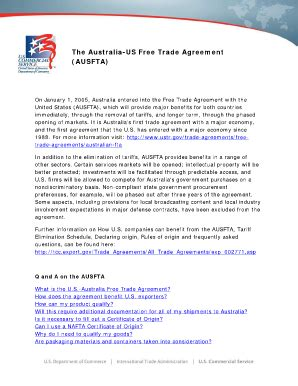 Email Search Australia Free Us Australia Form Trade Agreementpdffillercom Fill Printable Fillable