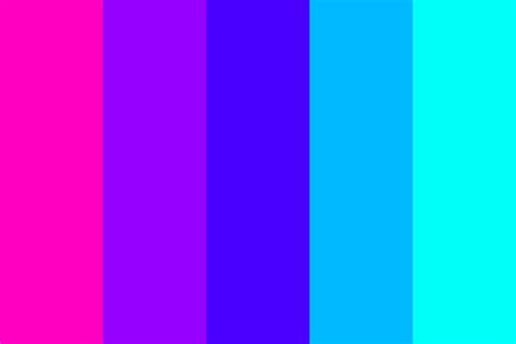 neon color scheme vaporwave neon purple color palette
