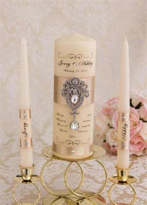 25  best ideas about Wedding unity candles on Pinterest
