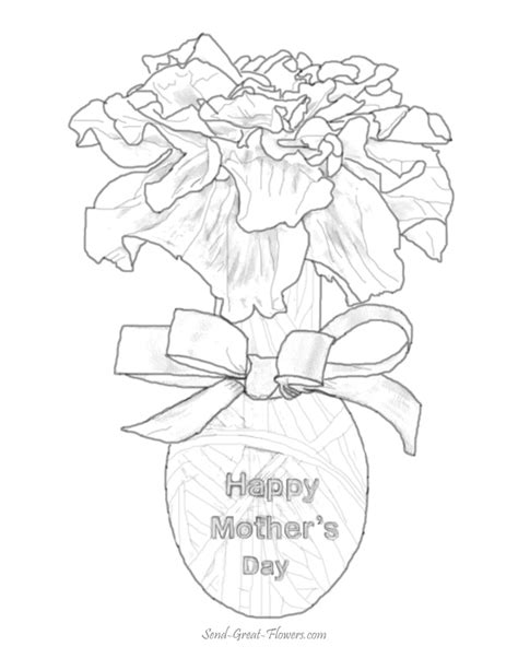 printable flowers mother s day mothers day 199 holidays and special occasions