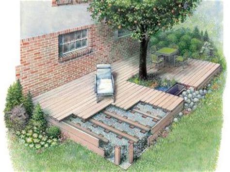 terrasse einfach bauen holzterrasse selber machen heimwerkermagazin