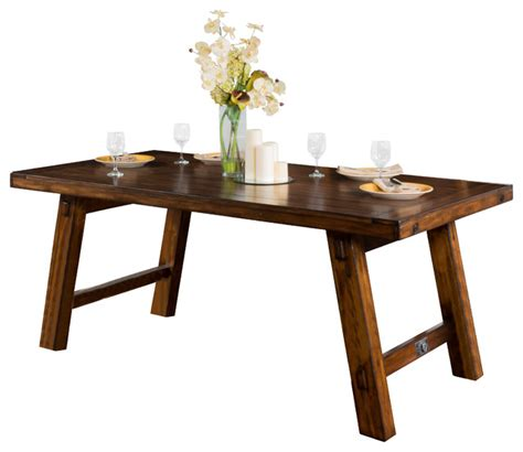 tuscany extension table with turnbuckle traditional