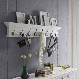kapstok hout wit kapstok wittevilla wit hout met 8 haken meubelen online