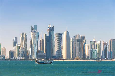 buy a boat qatar matteo colombo travel photography doha skyline at