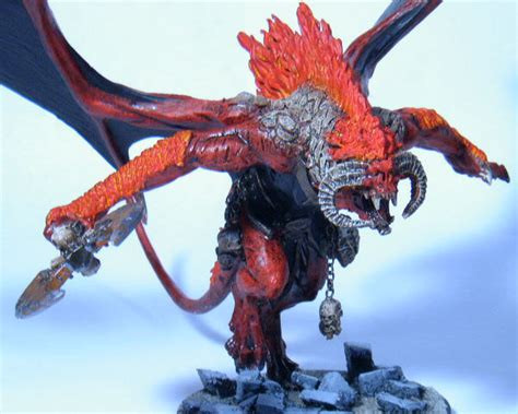 painting balrog workshop coolminiornot bloodthirster balrog by razormage