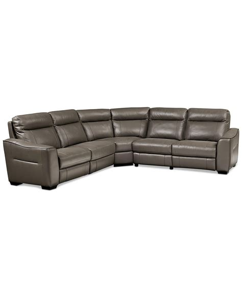 Macys Leather Sectional Sofa 20 Best Macys Leather Sectional Sofa Sofa Ideas