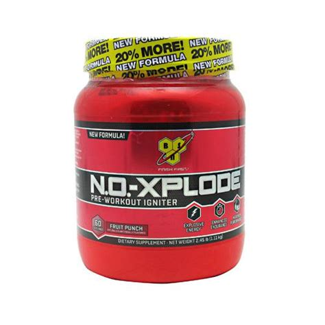 iron house gym bsn n o xplode pre workout igniter 60 servings ironhouse gym