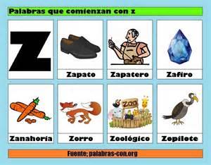 color con z palabras con la letra z z