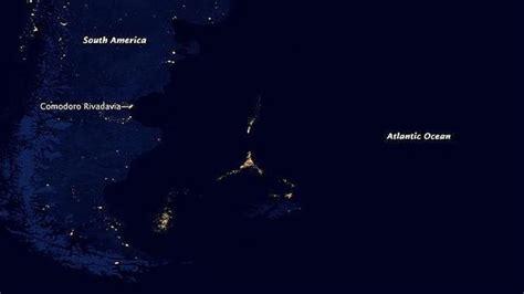 imagenes satelitales nocturnas ciudad de luz en el mar argentino estan las dudas taringa