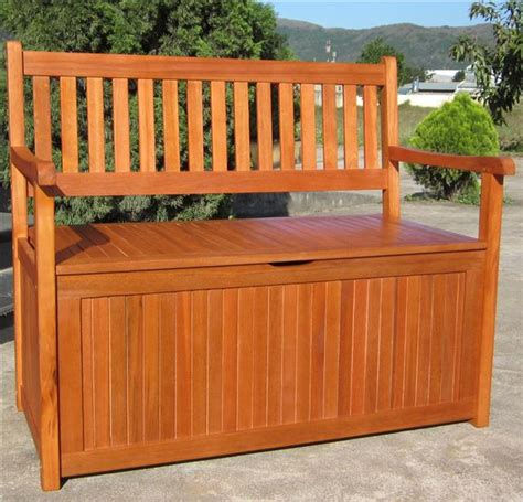 outdoor wood storage bench hardwood wooden garden storage bench 2 and 3 seater wood
