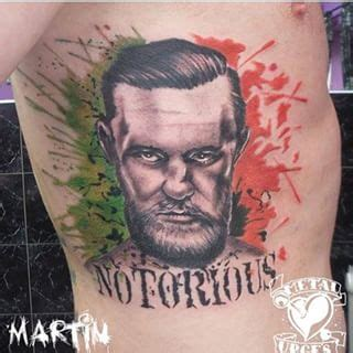 mcgregor face tattoo when conor mcgregor fanboys get conor mcgregor tattoos