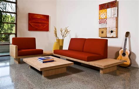 minimalist sofa design sofa designs for small living rooms with round wooden