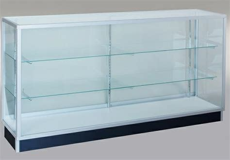 that 70s showcase ft com extra vision showcase 6 ft glass display case with