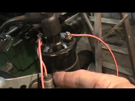 how to test hei capacitor removing the coil points condenser from magneto on tecumseh engines how to make do