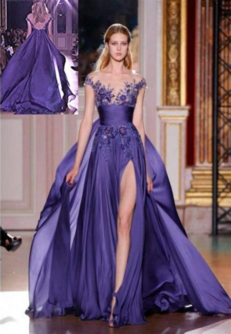 dresses for an evening wedding purple wedding gorgous purple bridesmaid gown