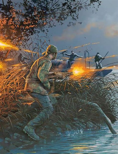 Seal Water Vixion during a ambush on a known enemy water crossing