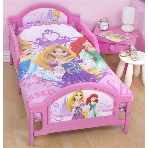 disney princess toddler bedding disney princess sparkle junior toddler bed new childrens