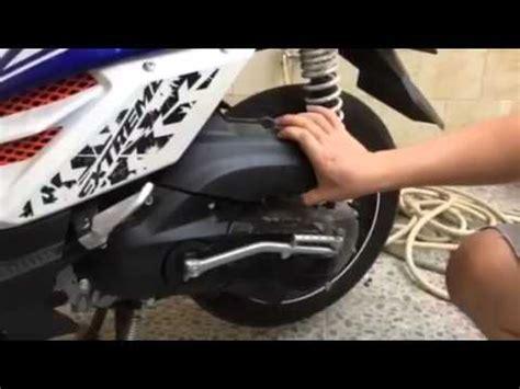 pemasangan ferrox filter udara yamaha x ride ttx