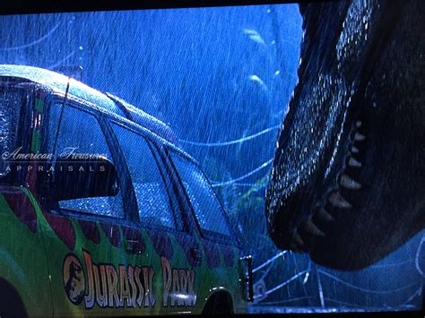 jurassic park car movie jurassic park movie memorabilia and props american