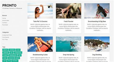 40 top free wordpress themes for photographers 2014