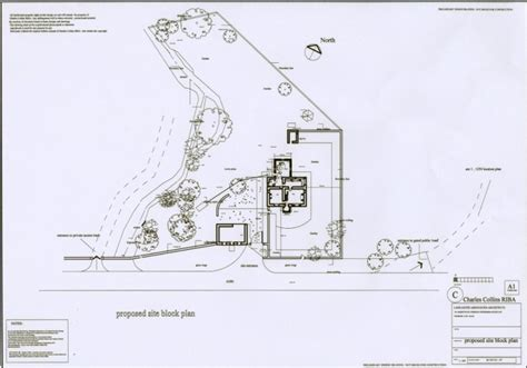 site layout of the building lancaster associates chartered architects residential