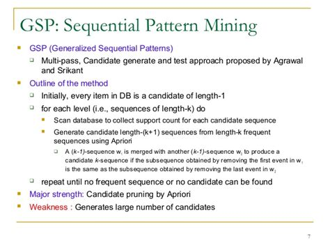 sequential pattern mining en francais 5 3 mining sequential patterns