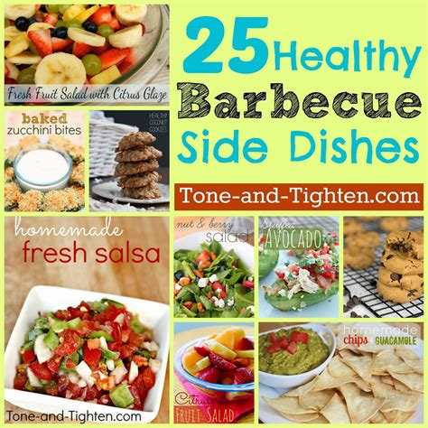 25 healthy summer bbq side dishes tone and tighten