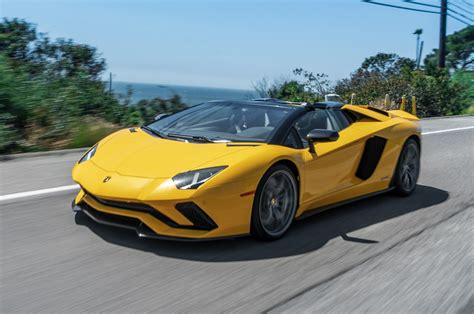 lamborghini aventador 2018 2018 lamborghini aventador s roadster first drive one of