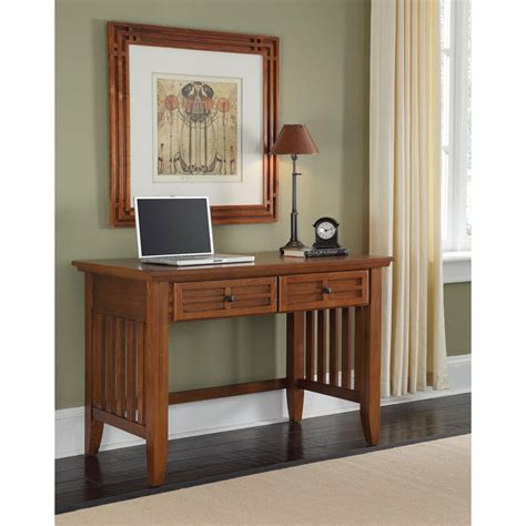 home student desk arts and crafts cottage oak student desk home styles