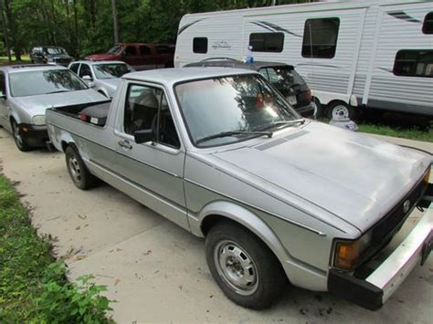 volkswagen rabbit truck 1982 sell used 1982 volkswagen vw rabbit truck pickup caddy