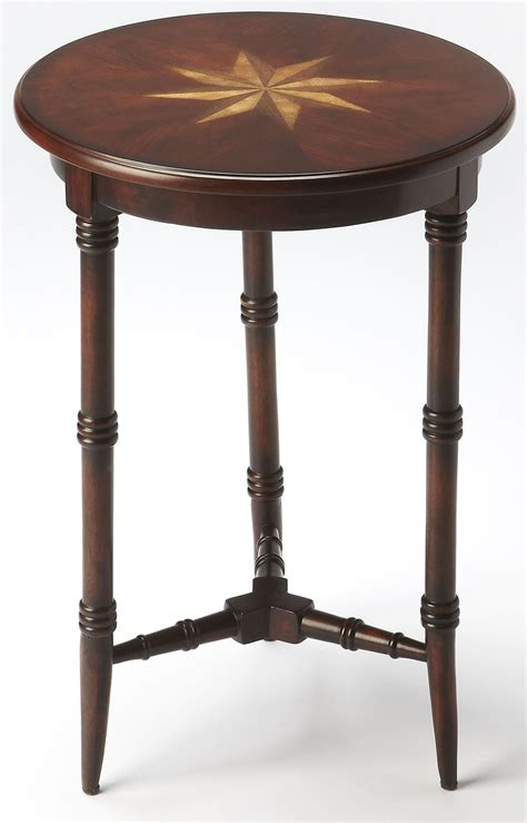 cherry accent tables isla plantation cherry accent table 3615024 butler