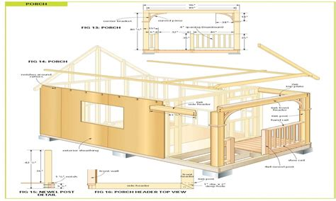 free cabin blueprints micro cabin plans free free cabin plans small cabin