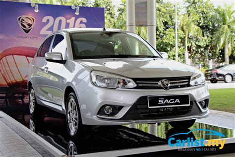 proton malaysia price 2016 proton saga launched in malaysia prices from rm37k