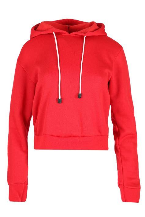 Sleeve Fleece Top new womens hoody sleeve fleece sweatshirt
