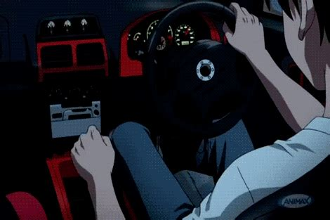Wheels Black Initial D anime race car