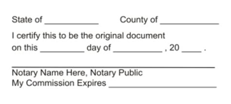 New York Notary Seal Notary St Notary Supplies All State Notary Supplies Notary Block Template