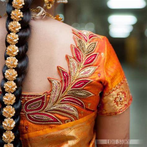 aari work blouse design photo gallery wedandbeyondcom