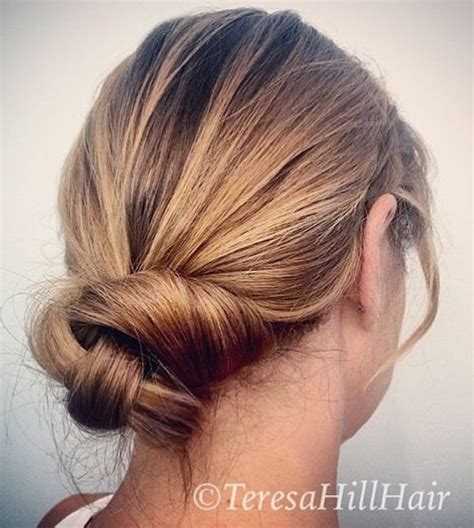 60 updos for thin hair that score maximum style point pictures casual updos for thin hair black hairstle picture