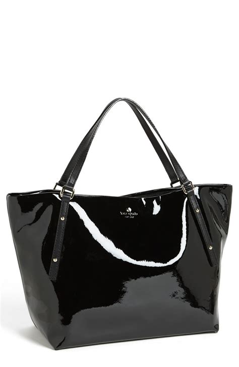 Kate Spade Square Tote kate spade jackson square patent leather tote in