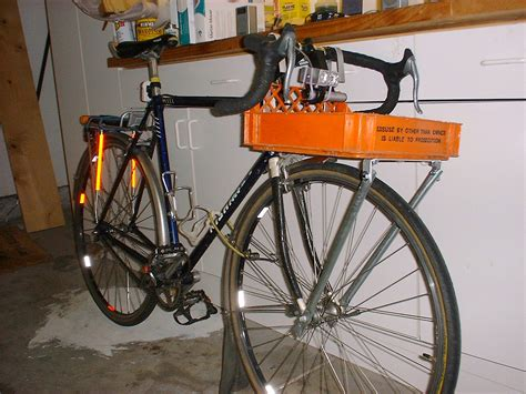 Bicycle Cargo Rack by Milkcrate Digest 187 How To