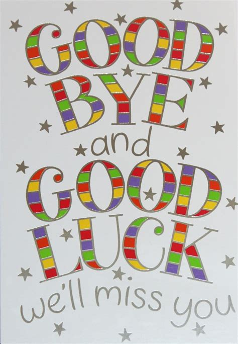free printable luck card template 7 best images of bye cards printable free printable