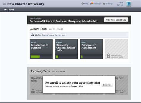 is patten university accredited universitynow elearning platform on behance
