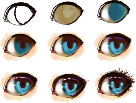 eyeshadow tutorial art eye step by step by ryky deviantart com on deviantart