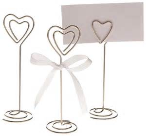 table place card holders 10x shape table number holder place card holders