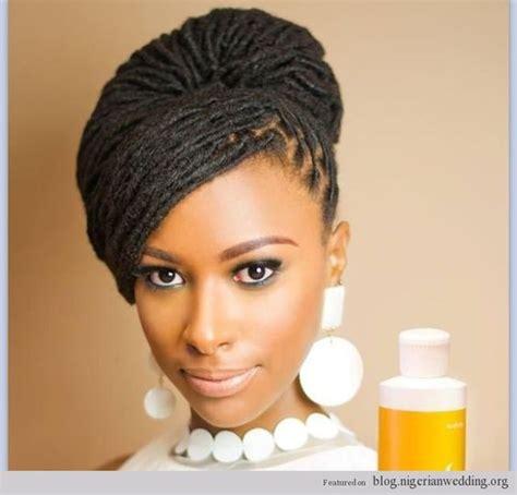 nigerian dreadlocks nigerian wedding dreadlocks bridal hairstyle african
