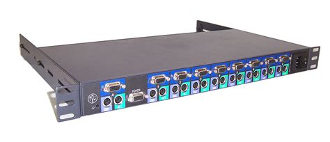 dell 19vyx model 71pxp 8 port kvm switch with rack mount