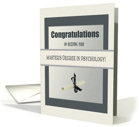 Chemistry Graduate Programs With Mba by Master S Degree In Psychology Graduation Congratulations
